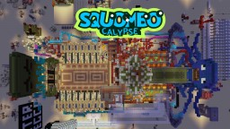 SQUOMBOCALYPSE (Multiplayer Redstone Minigame) Minecraft Map & Project