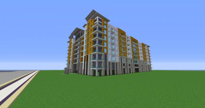 Popular Server Project : Modern Apartment Complex