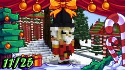 ❄️Minecraft Christmas Builds 11/25 🎁 NUTCRACKER Minecraft Map & Project