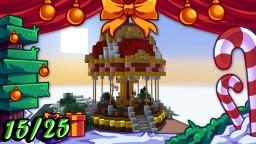❄️Minecraft Christmas Builds 15/25 🎁 CAROUSEL Minecraft
