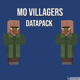 Mo villager datapack 1.13.x (updated to v1.3) Minecraft Map & Project
