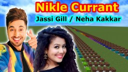 Jassi Gill & Neha Kakkar -Nikle Currant(T-series)/Minecraft noteblock cover & tutorial Minecraft Map & Project