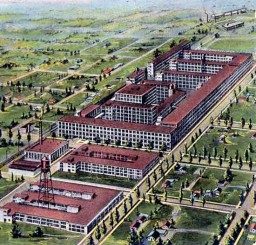 Detroit Packard Plant 1:1 replica Minecraft Map & Project