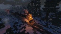 The Polar Express/ Pere Marquette 1225 Minecraft Map & Project