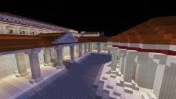 Small Roman Market  Square. Minecraft