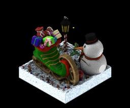 Christmas Ski Boot Minecraft