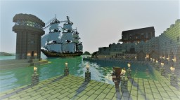 My new Realm Project: Survival, Factions, Coin based economy, And lots of ships! Minecraft Map & Project