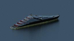 Superyacht 'Fortuna' Minecraft Map & Project