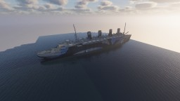HMT Aquitania Minecraft Map & Project