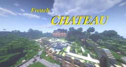 Detailed French Chateau Minecraft Map & Project