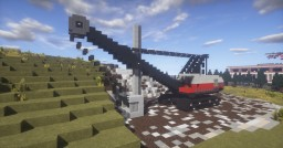 LIMA 2400 CABLE SHOVEL Minecraft Map & Project