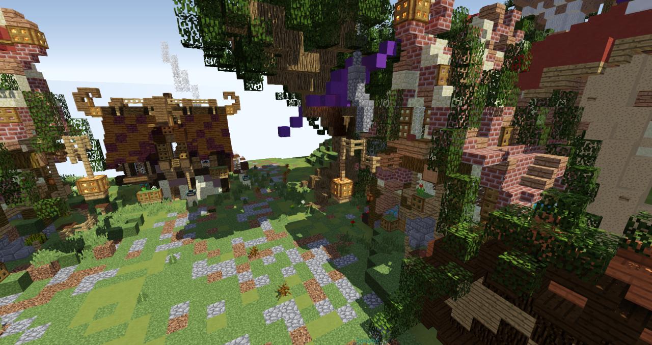 SkyBlock Spawn Minecraft Project