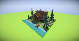 Forest Cottage Mansion [Winter Event] Minecraft Map & Project
