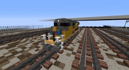 Union Pacific SD70ACe Minecraft Map & Project