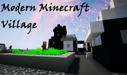 Modern Minecraft Village Minecraft Map & Project
