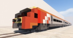 Minecraft BR Class 221 Super Voyager Minecraft Map & Project