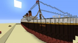 Titanic (Full interior) Minecraft