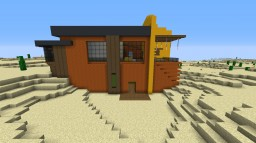 desert modern house Minecraft Map & Project