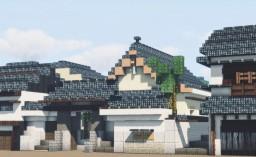 Tsunekuni-dera, Nakadera,  Chuo Ward, Osaka, Kansai, Japan Minecraft