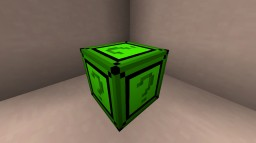 Extreme Emerald Lucky Block Mod (The Bow Update! Cars! Super Bows! Bounce Blocks! And more!) Minecraft Mod