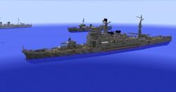 IJN Takao 1:1 Scale Minecraft