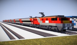 LNER Intercity 225 BR Class 91 + Mk4s Minecraft Map & Project