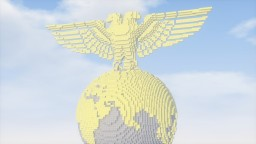 GOLDEN EARTH EAGLE Minecraft Map & Project