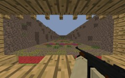 Shooting training map (for Call To Battle 2 mod) Minecraft Map & Project