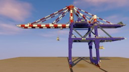 Container Gantry Crane Minecraft