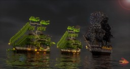 3 Ships + DOWNLOAD Minecraft Map & Project