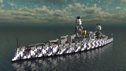 Fictional Argentine Battleship - ARA Bartolomé Mitre - For L4UTY_Z3R0 Minecraft Map & Project