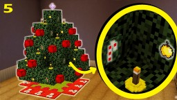 How To Make Christmas Tree Decorations | Christmas Special Part 5/6 Minecraft Map & Project