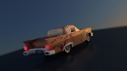 Ford Thunderbird 1957 Minecraft Map & Project