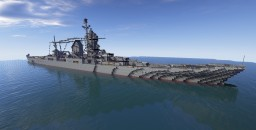 Henri IV Battlecruiser Minecraft Map & Project