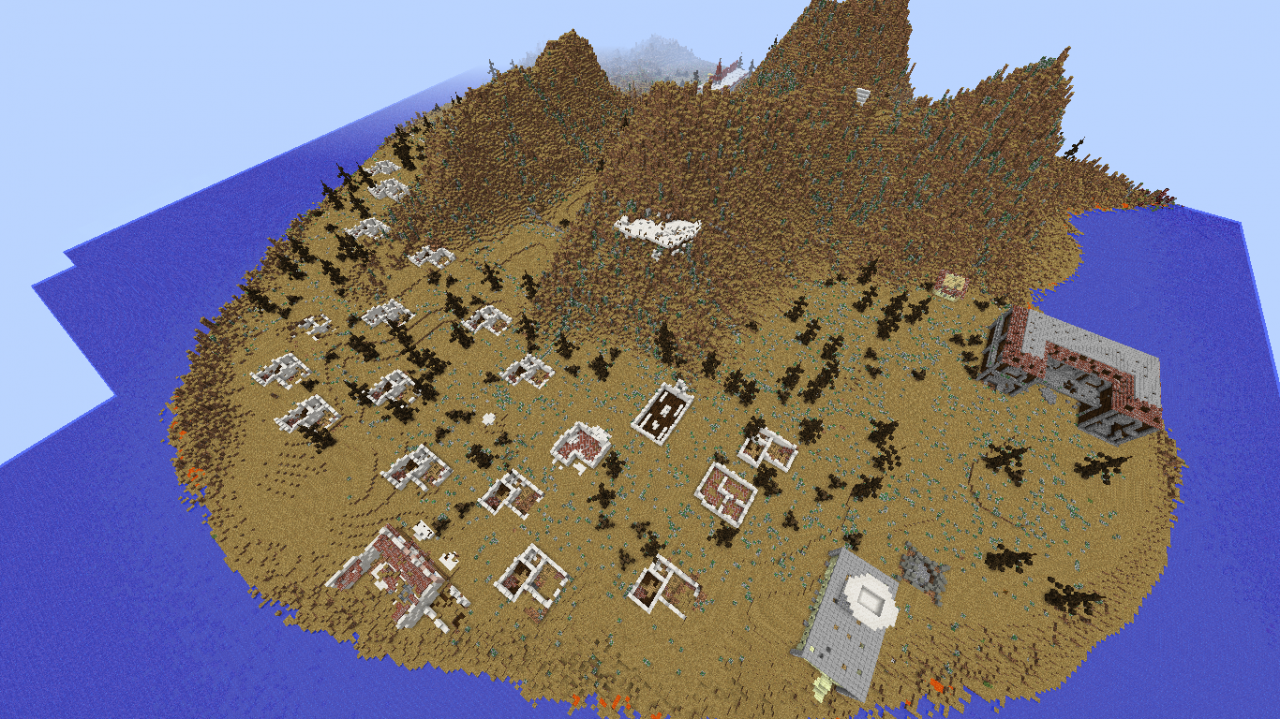 minecraft fallout 4 map