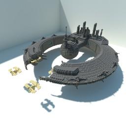 Lucrehulk-class Battleship Minecraft Map & Project