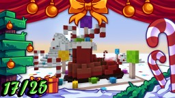 ❄️ Christmas Builds 17/25 🎁 BOOT & CANDIES Minecraft
