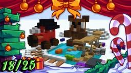 ❄️ Christmas Builds 18/25 🎁 AIRCRAFT, TEDDY BEAR, TRAIN & TOYS Minecraft Map & Project