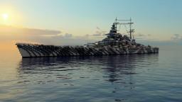 H44 Class Battleship [1:1] Minecraft Map & Project