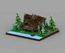 Forest Cottage Mansion [Winter Event] Minecraft