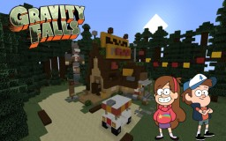 Gravity Falls | Mystery Shack Minecraft Map & Project