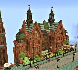Victorian Townhouse Minecraft Map & Project