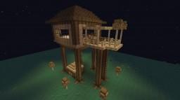 casa en el aire Minecraft