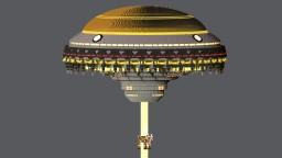 UFO - Cow abduction Minecraft