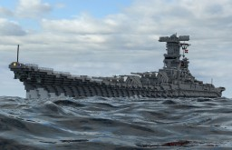 IJN Heavy Battleship Aki Minecraft Map & Project