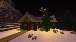[Medieval] Winter House (Christmas) Minecraft Map & Project