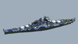 fictional battleship Minecraft