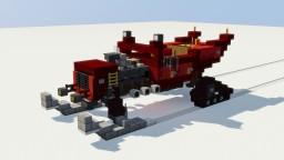 Hot Rod Santa Sleigh Minecraft