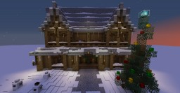 Winter Cabin Minecraft Map & Project
