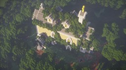 Overgrown Church Minecraft Map & Project